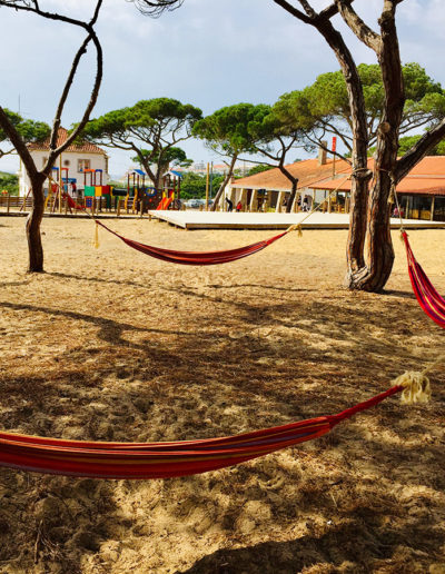 Hammocks in the Aldeia